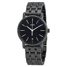 Rado R14064177 Women's Diamaster Ceramic Charcoal Quartz Watch