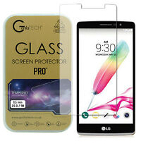 Twin Pack LG G3 S Gorilla Screen Protector Premium Tempered Glass LCD Guard Film
