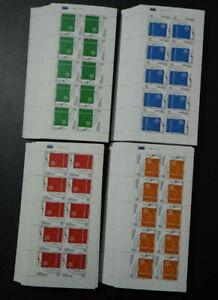 2006 Armenien; 200 Kleinbogenserien Europa, **/MNH, MiNr. 543/46, ME 5600,-