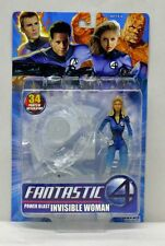 Fantastic Four Movie  Power Blast Phasing Invisible Woman ToyBiz NIP 4+ S173-1