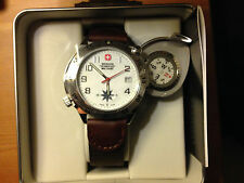 Wenger Swiss Military Swing-out Compass Watch, New In Box, Last One In World