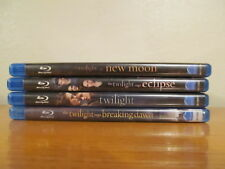 The Twilight Saga Blu Ray - Lot of 4 movies - Excellent Condition