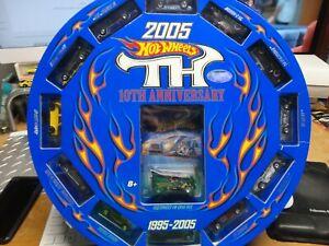Hot Wheels 2005 Factory Treasure Hunt Set of (13) w/VW Drag Bus, No Shipper Box