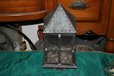 Vintage Country Barn Light Fixture Lamp Candle Holder-Nautical Decor-#2-Metal