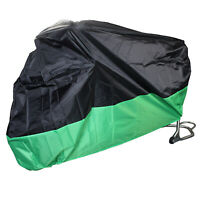 Waterproof Outdoor Motorcycle Motorbike Cruiser Scooter Motor Bike Cover Green
