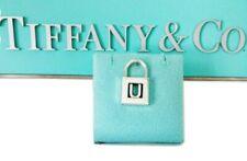 Tiffany & Co Sterling Silver Alphabet U Padlock Pendant Charm Rare