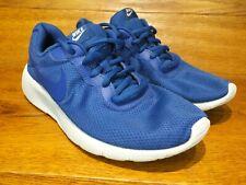 Nike Tanjun Blue Running Shoes Casual  Trainers UK 5 EU 38