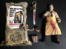 Leather Face McFarlane Movie Maniacs Action Figure Loose Excellent Condition
