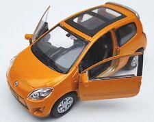 Spedizione LAMPO Renault Twingo GT Arancione 1:34-39 Welly Modello Auto Nuovo & OVP