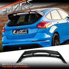 RS Style Trunk Spoiler Wing for Ford Focus LZ LW Hatch 12-18 Bodykit