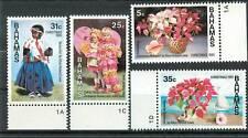 NATALE - CHRISTMAS BAHAMAS 1985 set Fiori Flowers