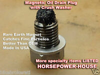12mm US-MADE MAGNETIC OIL DRAIN PLUG Kawasaki 2006-2021 Ninja ZX14 ZX-14R ZX1400