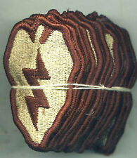 US Army 25th Infantry Division DCU Desert Tan Patch Dealer Lot of 20