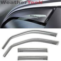 WeatherTech Side Window Deflectors for Saturn Vue - 2008-2010 - Light Tint