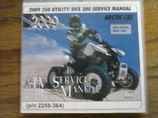 2009 Arctic Cat 250 Utility / DVX 300 ATV Service Manual (P/N 2258-364)