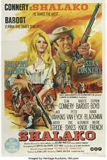 SHALAKO 1968 SUPER 8 COLOUR SOUND 400FT CINE 8MM FILM SEAN CONNERY + BARDOT