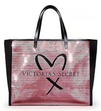 Victoria's Secret Limited Edition Bling Sequins Show-Stopper Tote Bag New!