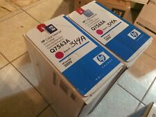 Original HP 314A Q7563A Magenta LaserJet Toner Cartridge bLUE/WHITE SEALED BOX