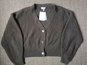 Other Stories Chunky Wool Cardigan M