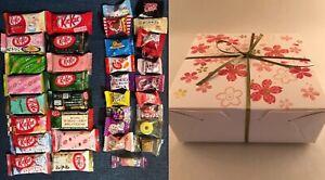 36pc Japanese Sweets SAKURA Gift Box Set (16 Kit Kat + 20 Candy) kitkat kats