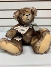 Weston Mohair Glass Eyes Bear By E Willoughby Bear Company