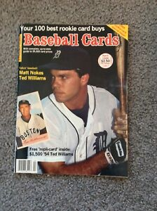 Baseball Cards Magazine Matt Nokes April 1988