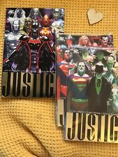 DC  - Justice League Volume 1-3  - Hitch , Inc V1 Hardcover Deluxe
