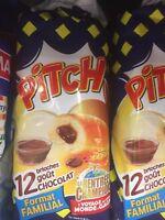 Lot Revendeur Destockage Palette/De 48 Brioches Pitch Goût Chocolat DLC Longue