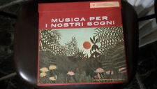 DISCO VINILE  MUSICA PER I NOSTRI SOGNI  10 dischi in cofanetto LP 33 giri