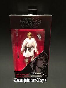 "Star Wars Black Series 6"" Luke Skywalker 21 Tatooine Farm Boy Jedi Rebel ANH TFA"