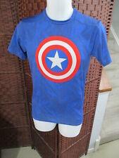 Under Armour Men's Captain America Compression Shirt Size Large