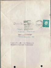 """Haus - und Grundbesitzerverein Garmisch-Partenkirchen """"Rechnungsbrief """" 1960"""