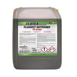 Flotex® 5L Flugrostentferner Auto - Flugrost Entferner Lackreiniger Löser