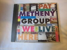 CD Pat Metheny Group We Live Here Rockabilly  music