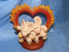Piggin Pig Hearts On Fire Club Joining Piece Collectable Pig Figurine 14267