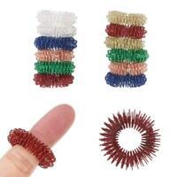 12PCS Spiky Sensory Finger Acupressure Ring Fidget Toy For Kids Adults Silent