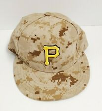 59Fifty New Era Mlb Pittsburgh Pirates Official On Field Cap Brown Camouflage