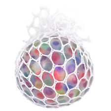 Anti Stress Face Reliever Squishy Mesh Ball Grape Healthy Squeeze ADHD Toy Gifts