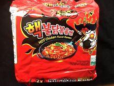 Samyang Super Spicy EXTREME   Hot Chicken Ramen Noodles  X5 48hr DELIVERY