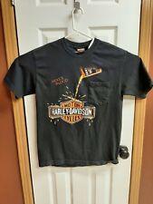 New listing Vintage 90'S Harley Davidson Hog'S Blood Dealer T Shirt Size Medium Biker Shirt