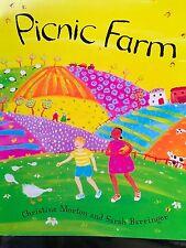 Teacher Big Book PICNIC FARM Kindergarten SHARED READING 1st Oversized