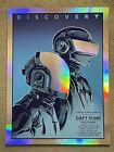Daft Punk Discovery Concert Show Band Gig Foil Poster Art Print Mondo Tim Doyle