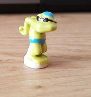 Statuina ( Fava) - Piccola Rana Moderna Figura Femminile che Nuota (6642)