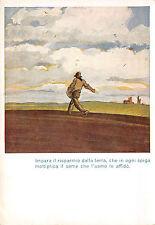 C2127) CASSA DI RISPARMIO PROVINCE LOMBARDE, IL SEMINATORE. ILL. DUDOVICH.