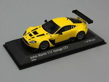 Minichamps 1:43 Aston Martin Vantage V12  Street  2012 yellow L.E. 500 pcs.