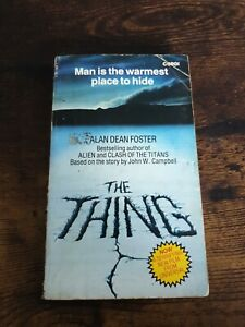 The Thing - Alan Dean Foster - PB - Corgi - 1st Edition 1st Impression