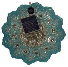 Handmade In Turkey Beautiful Home Decor Glass Bowl/plate/dish Silver Decoration