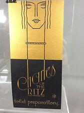 Original Poster Charles of the ritz Ritz-carton NY toilet preparations 1930
