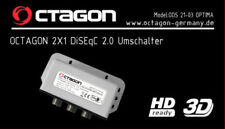 Octagon Optima 2 In 1 Out DiSEqC Switch Weather Cover & 3 Year Warranty