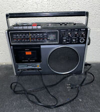 Sanyo Model M9600 Electronic Memory System Radio Cassette Recorder